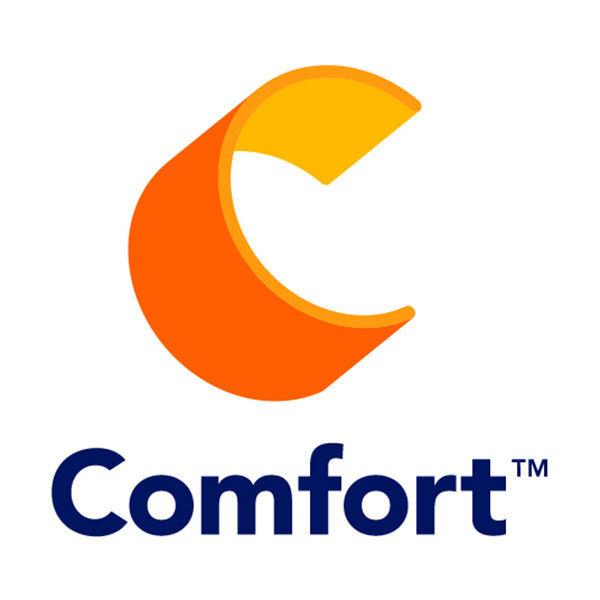 This image has an empty alt attribute; its file name is comfort_logo.jpg
